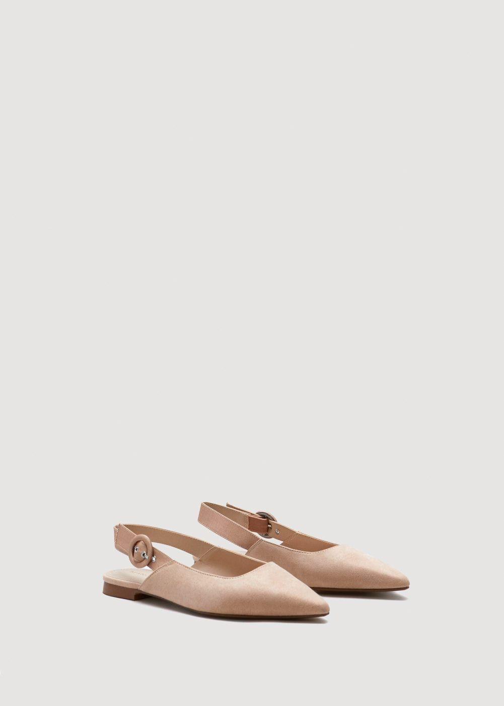 dbe212dd09068 Ankle-cuff slingback shoes - Women   accessorize   Pinterest ...