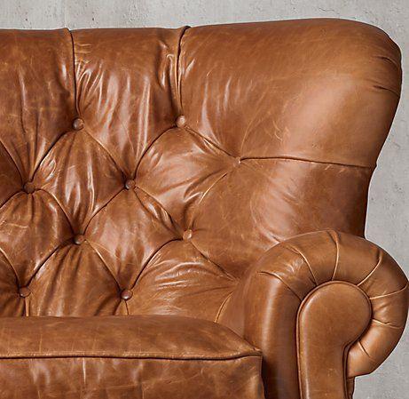 Churchill Leather Sofa Living Room Recliner