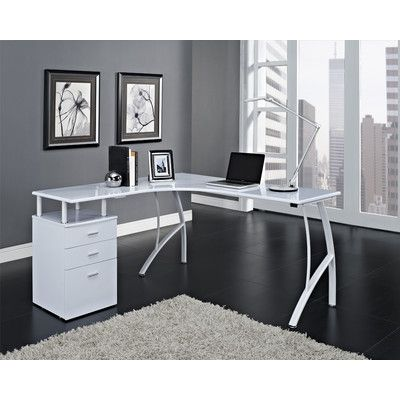 Found It At Wayfair Co Uk Computer Desk White Corner Desk Office Desk White Corner Computer Desk