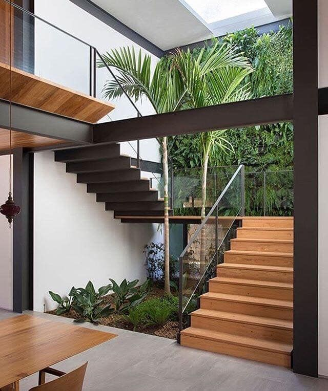 10 Stunning Modern Stair Design Ideas For You Local Home Us Home Improvement Stairs Design Modern Home Stairs Design Staircase Design House plan with interior staircase