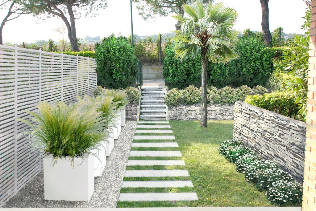 Immagini Di Giardini Moderni : Il giardino moderno progetti di giardini e terrazzi by verde
