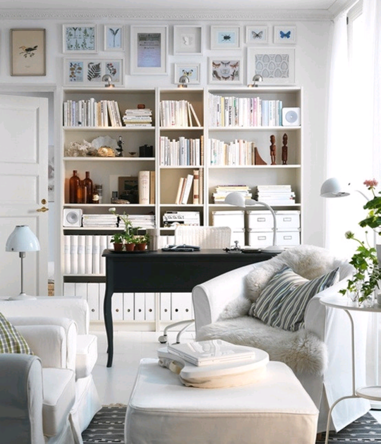 Small Space Solutions 11 Ways To Make Your Rooms Do Double Duty New Living Room Office Ideas Inspiration