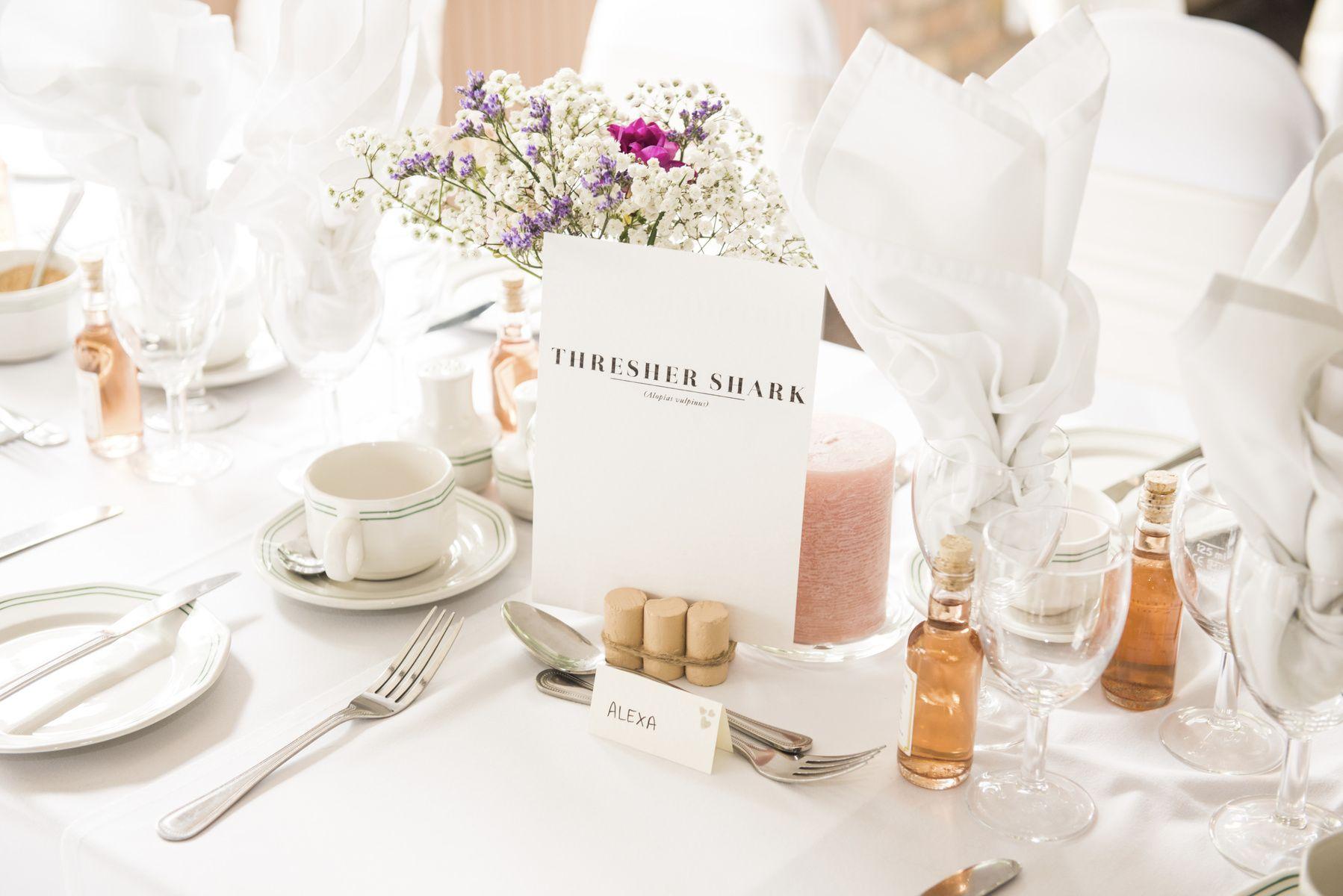 Rose Images Wedding Photography  - Portfolio - Sally Rose - Table Details - Wedding - Sharks - London  www.roseimages.co.uk