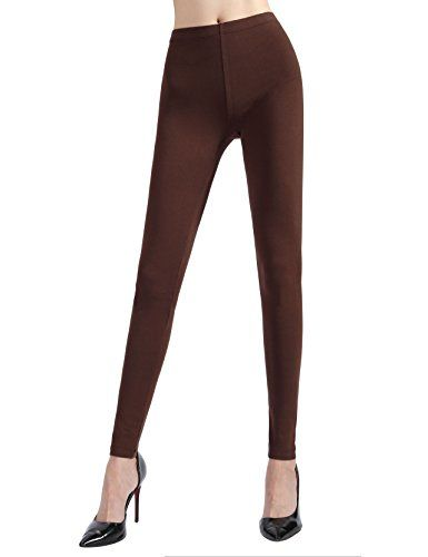 8f588fcdd3a17 JP Womens Cotton Leggings X Large Brown * Learn more by visiting the image  link.