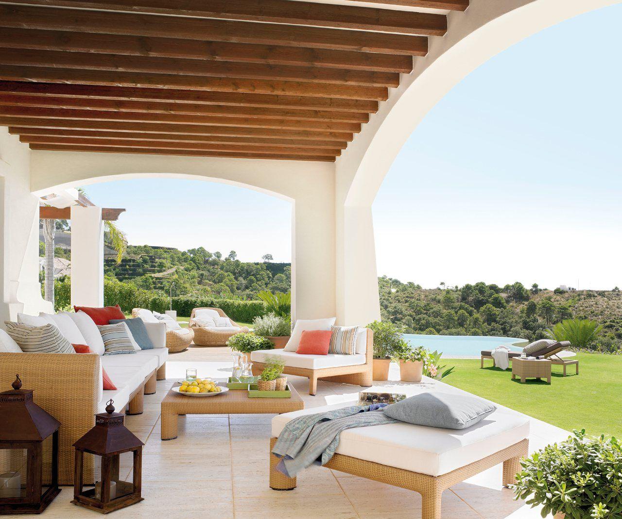10 porches maravillosos casa sana for Porches para patios