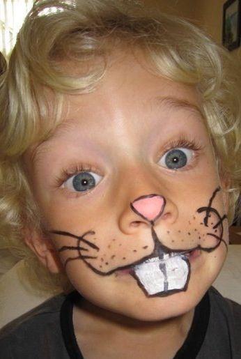 Diy Rabbit Face Paint Makyaj Kuaforler