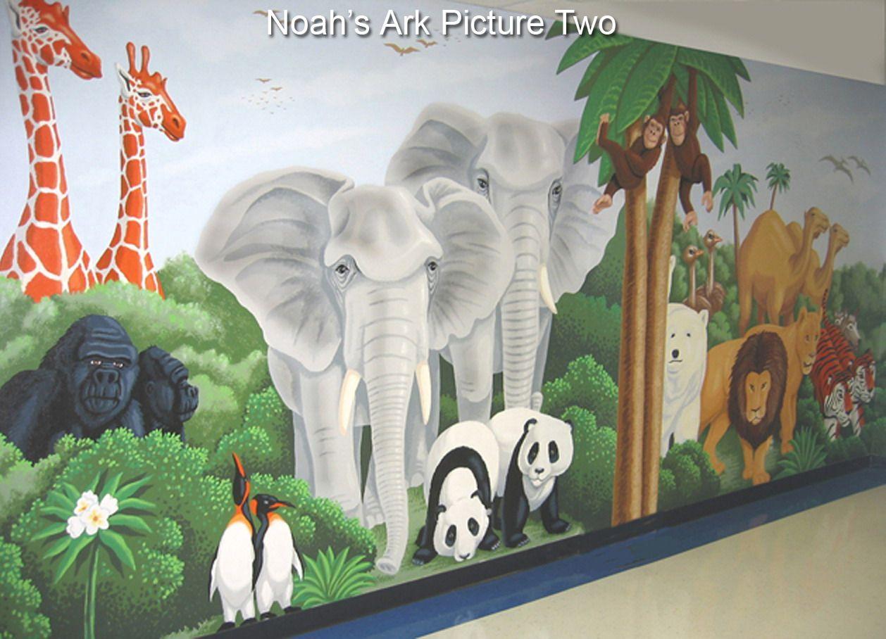 noahs ark mural google search creativity pinterest school noahs ark mural google search