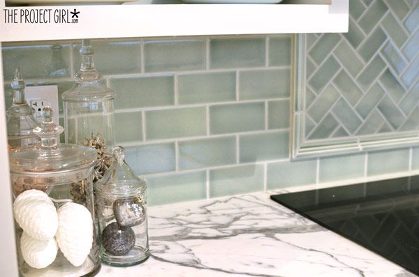 Relatively Think I found my new backsplash tile! She says its a perfect  QR55