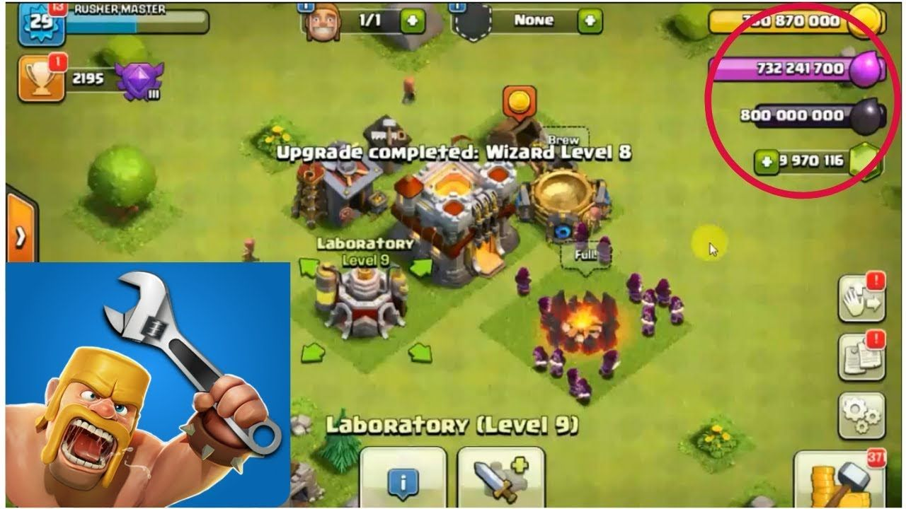 Clash of clans hack 2019 unlimited free gems android ios