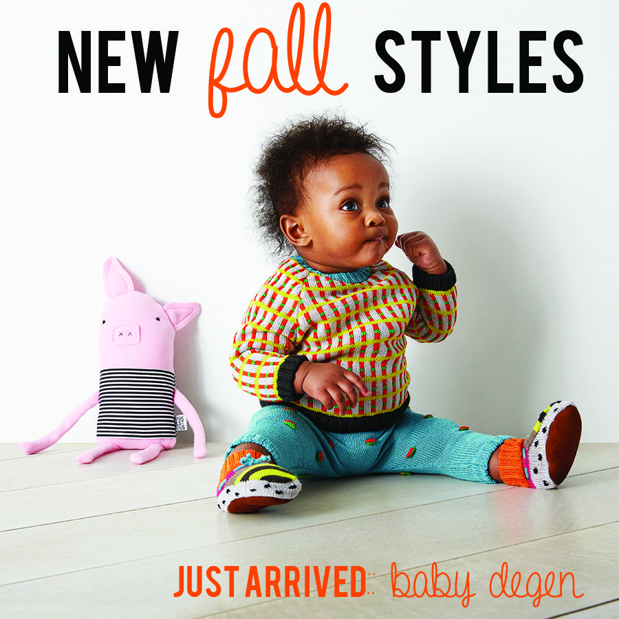 nothing cuter than this little guy! Baby Degen makes the cutest baby clothes, hand knit in Brooklyn and just arrived at Babesta!