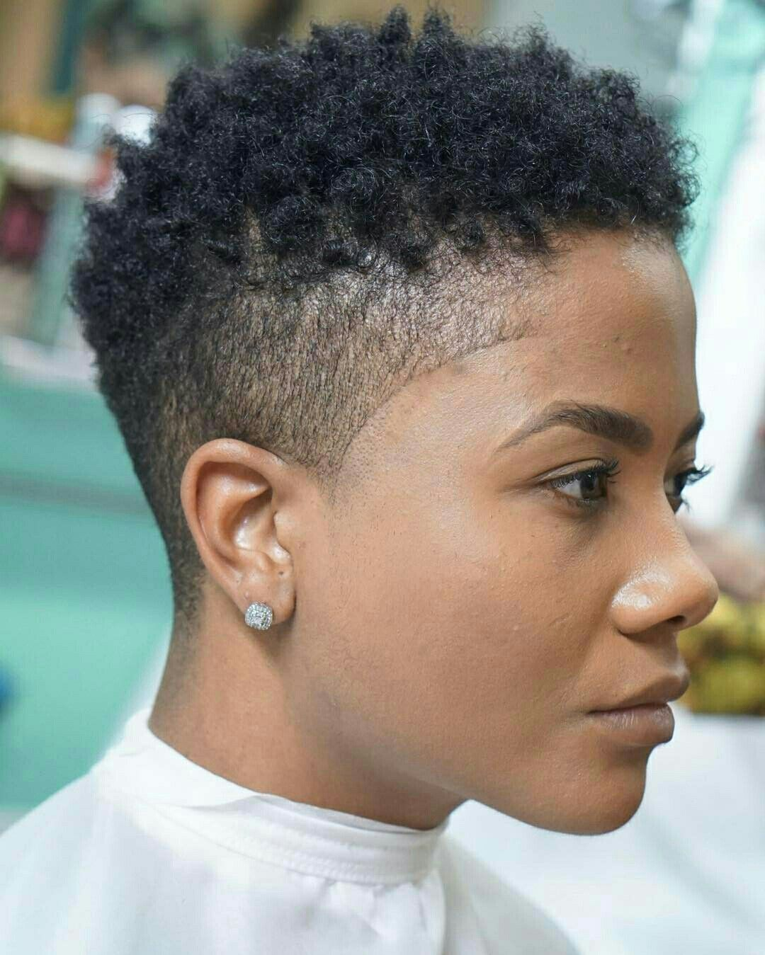 Perfect Natural Make Up Taper Fade Haircut In 2019 Pinterest