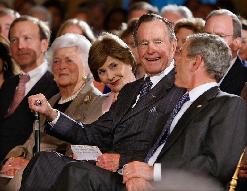 Former President George H W Bush Dies At 94 Bush Family