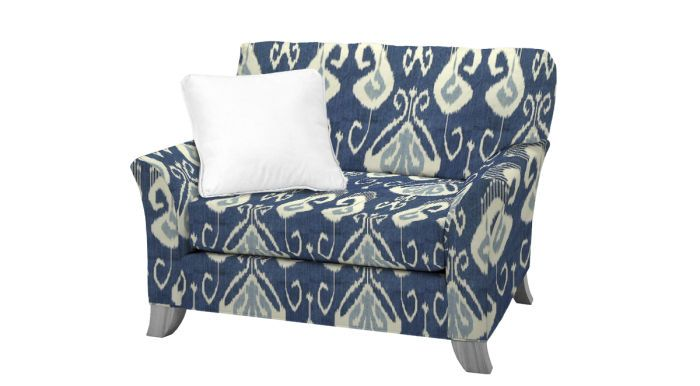 Norwalk Furniture Jessie Cuddle Chair Bansuri Cover Oak Dining Room Chairs Green Chair