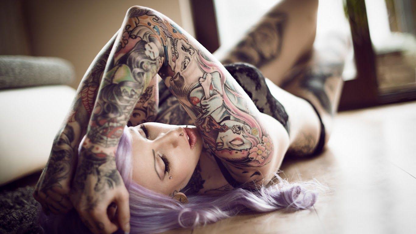 tattoo girl hd wallpaper - photo #14