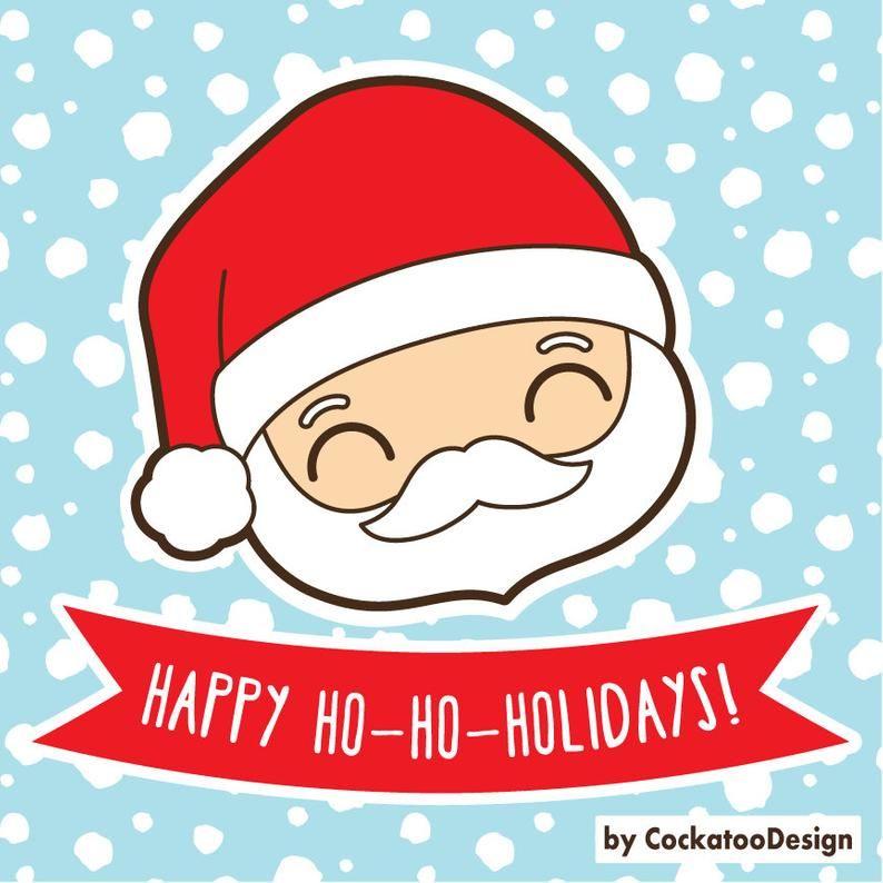 Clipart De Oso De Navidad Clipart De Renos De Navidad Etsy Imagenes De Navidad Kawaii Dibujo De Navidad Navidad Clipart