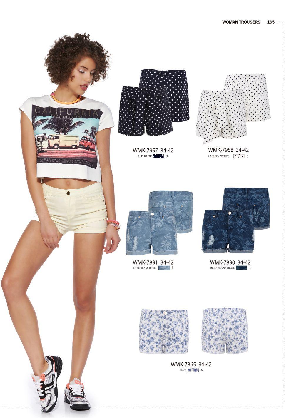 #forwomen #clothing #fashion #glostory #jeans #denim #denimshorts #flower #shorts #white #blue