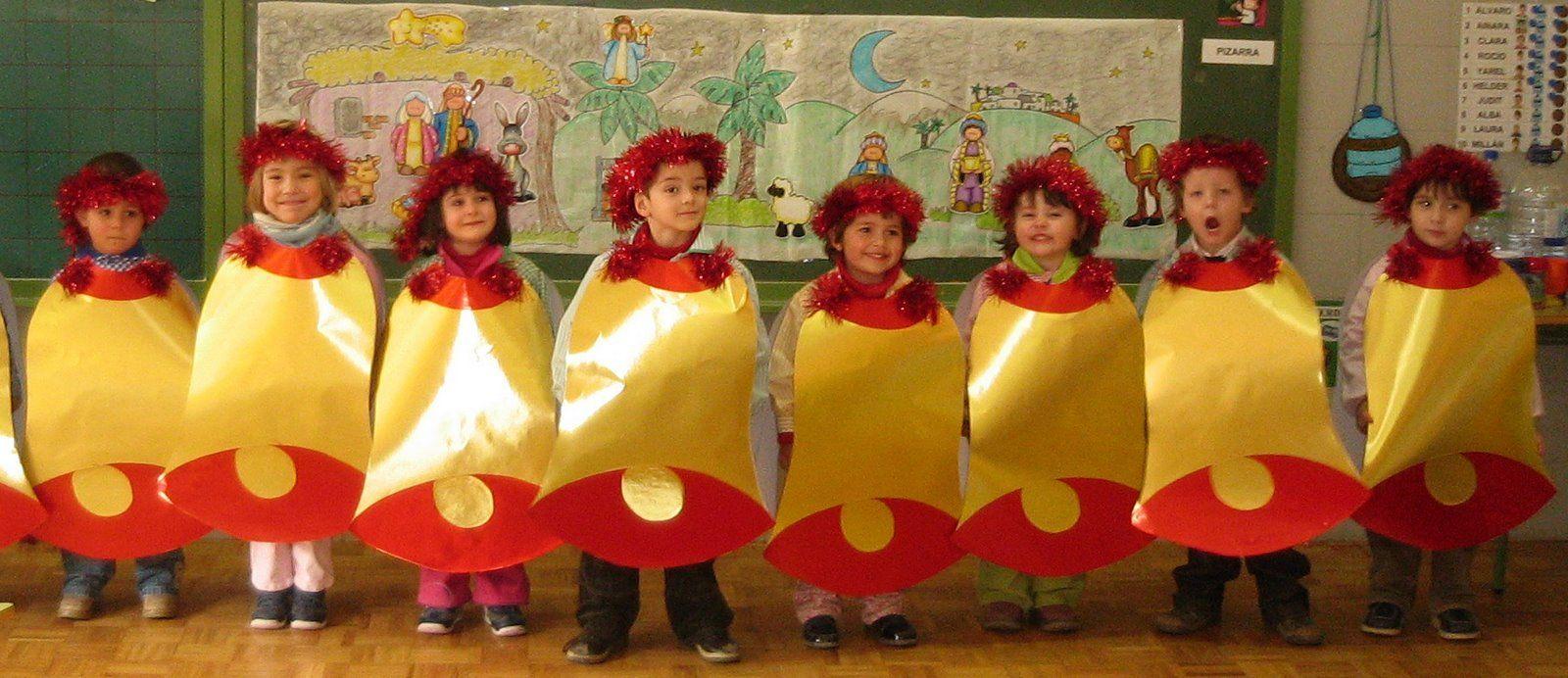 Villlancico din don dan disney y letra http - Disfraces infantiles navidenos ...