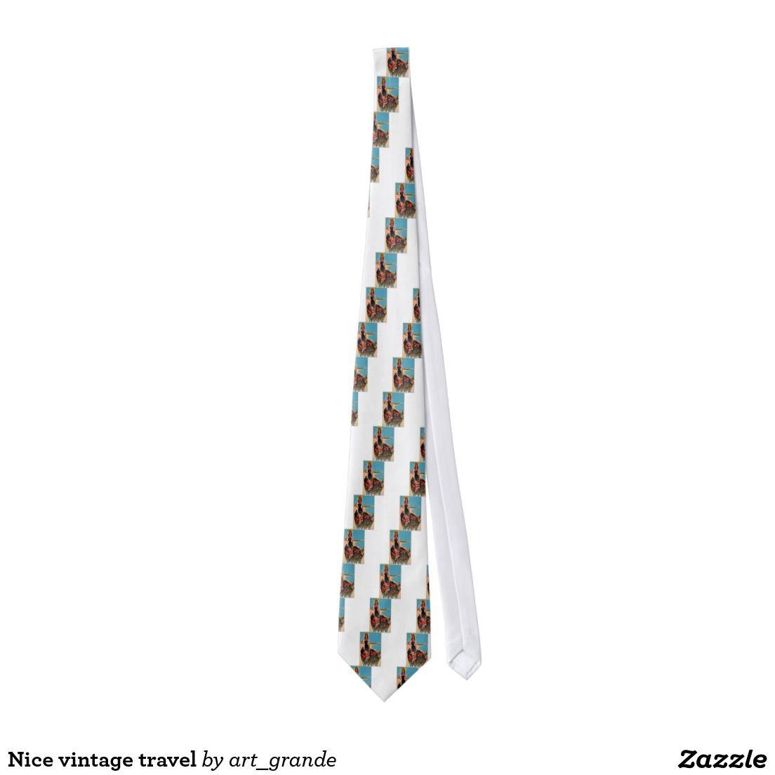 Nice vintage travel neck tie