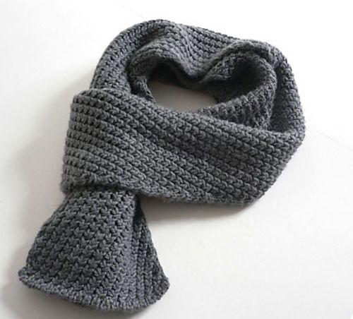 Extra Warm Mens Scarf Pattern By Kyoko Nakayoshi Yarn Love