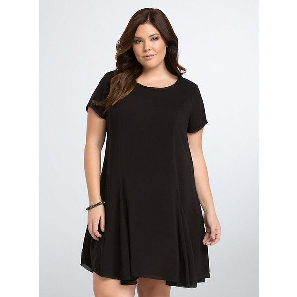 Plus size loose fitting dresses