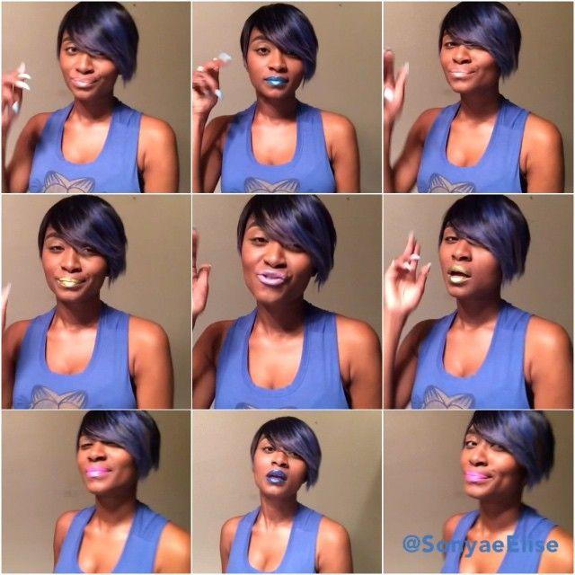 Crazy Yung Stars | #SonyaeElise #SheMix #CrazyYoungsters #PitchPerfect2 @PitchPerfectMovie #15SecondSway #LadyAndTheЯebeLs #TheBiяchyBunch #WhoYouLovin [Lips:@L.REBEL, Hair:@jalamadistyle]