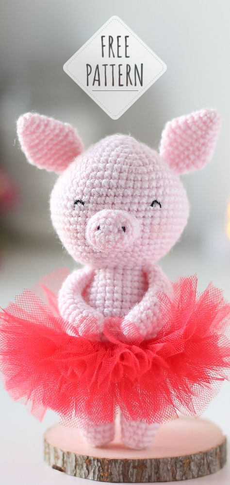 Free Crochet Patterns – Year Of The Pig – Crochet | 997x474