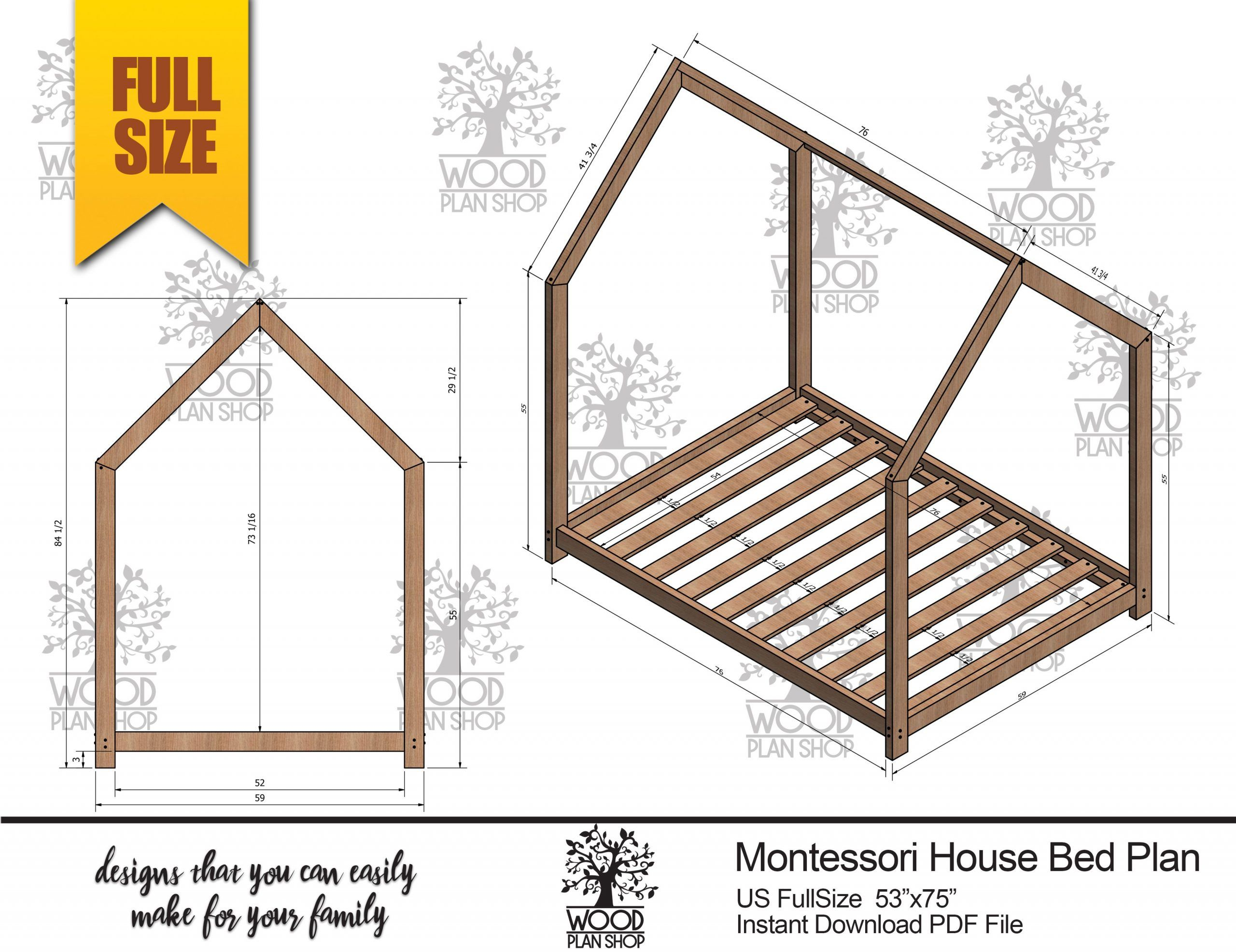 Full Size House Bed Frame Made In Us House Frame Bed House Beds