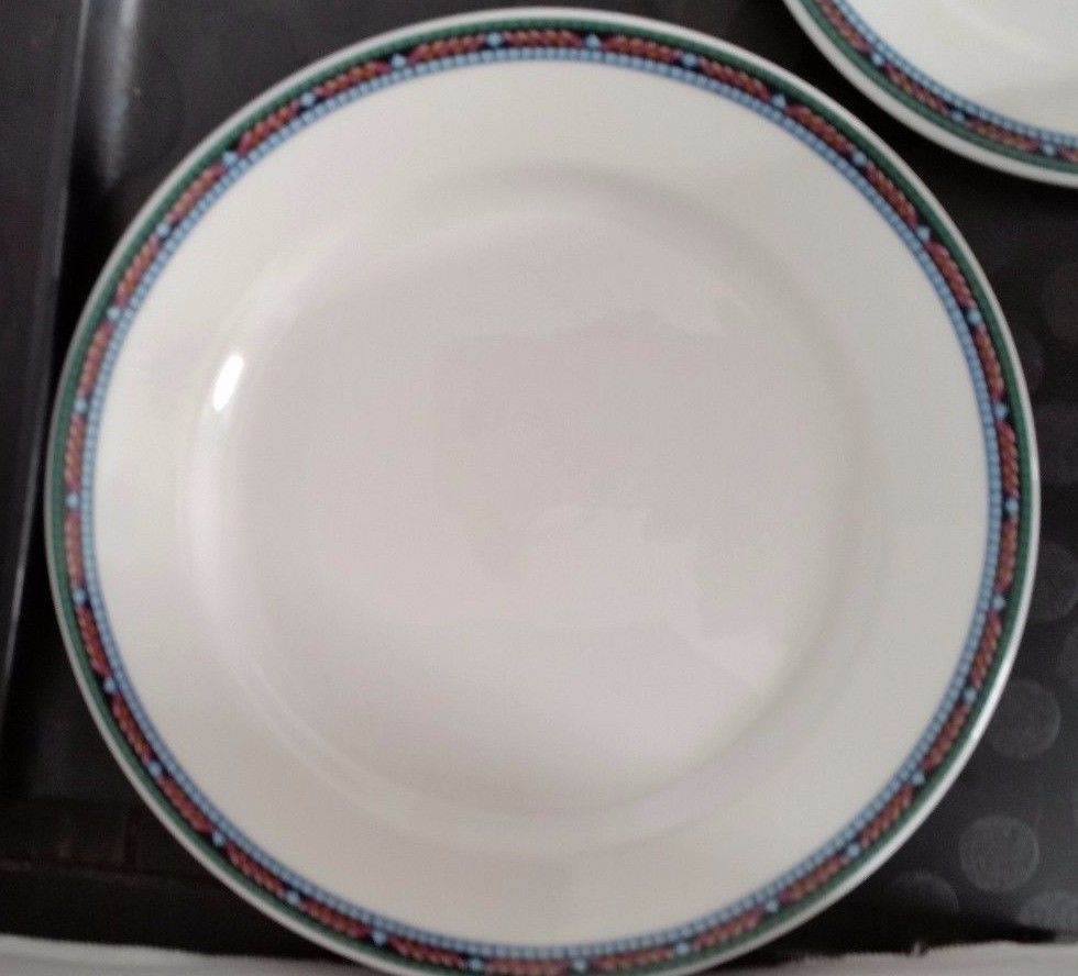Dudson Stoke on Trent Plate 8 inch Dinnerware England Saucer Mosaic ...