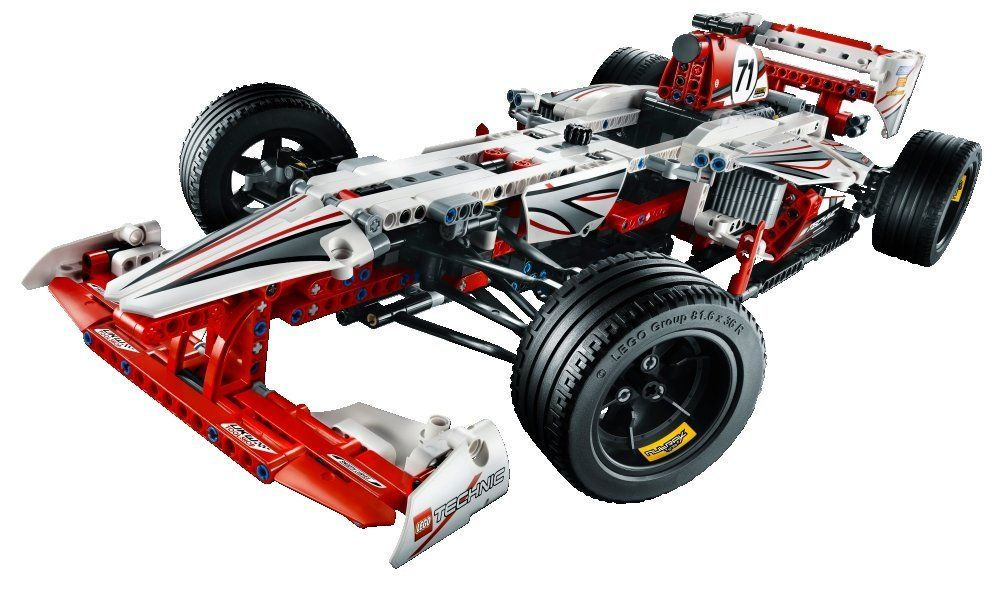 Amazon.com: LEGO Exclusive Technic Grand Prix Racer 42000: Toys ...