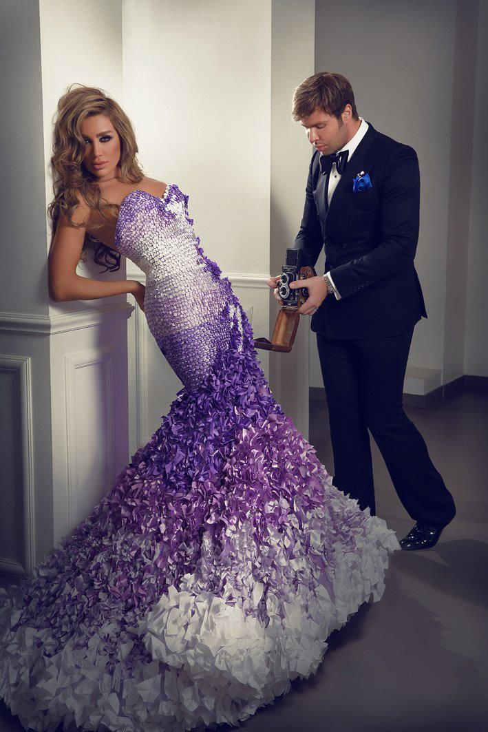 Tamoorah - Fashion and Beauty Blog : Maya Diab for Nicolas Jebran ...