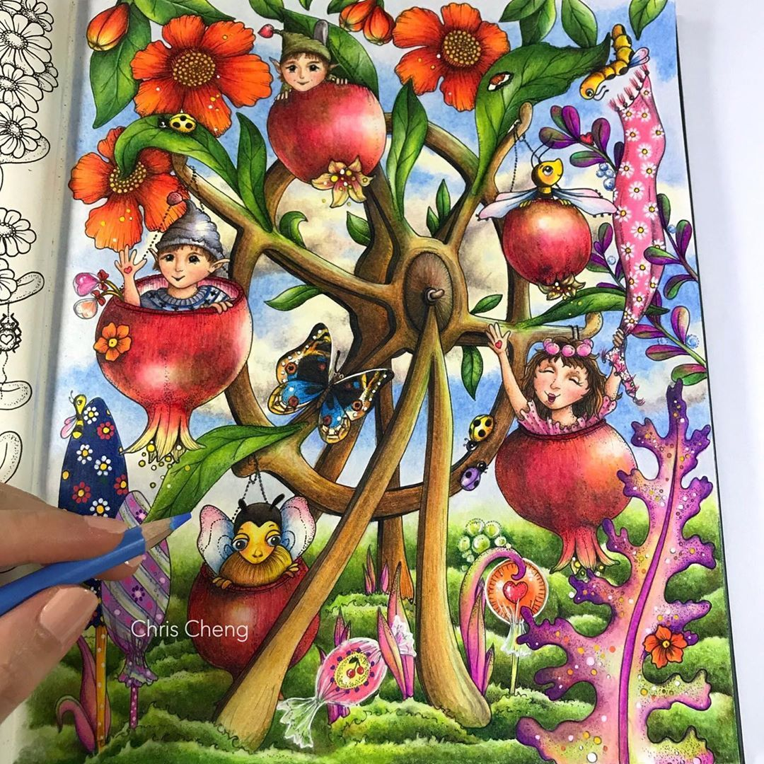 Fairy Coloring Pages Youtube Images