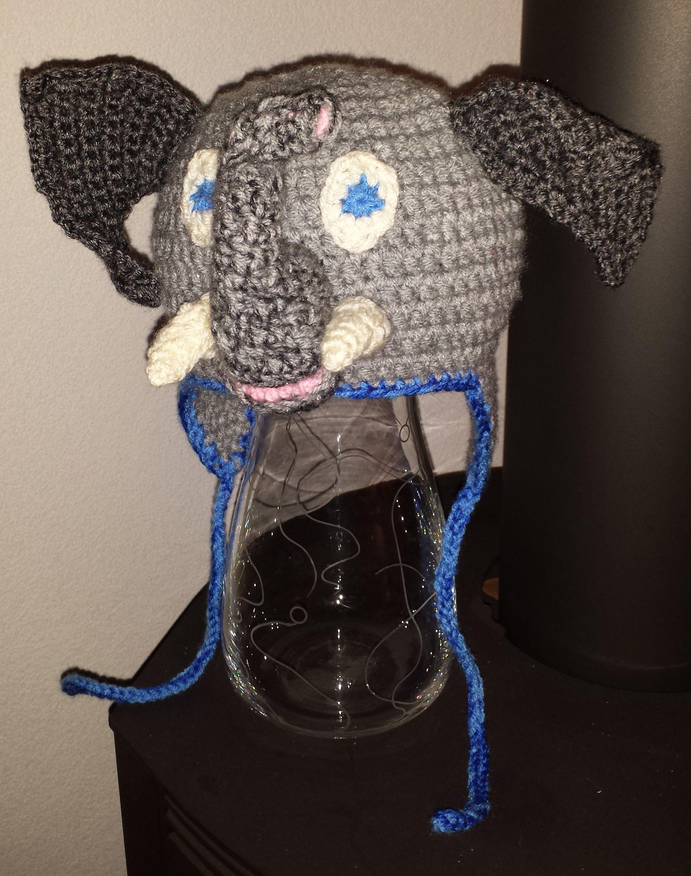Elefanten Mütze, häkeln, Eigenkreation Uhuu! | Kostüm | Pinterest ...