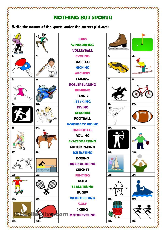 Nothing but sports! | SPORTS | Pinterest | English ...
