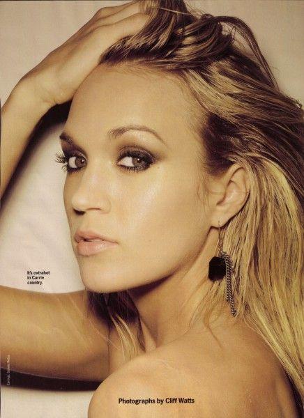 Carrie Underwood smokey eyes | Long bridal hair, Carrie underwood hair, Long hair styles