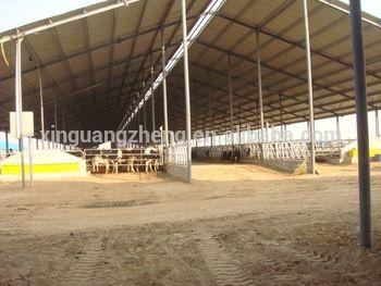 Cheap Steel Structure Cow Farm House In Bangladesh Rlan
