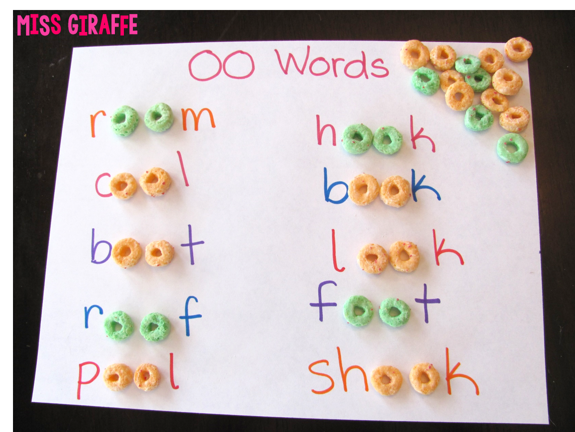 Worksheet Words With The Oo Sound 17 best images about oo words on pinterest the two froot loops and spoons
