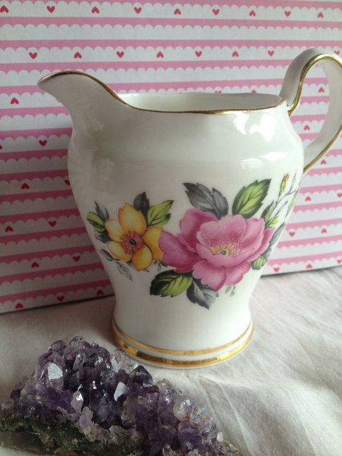 Royal Tara fine bone china milk jug. Made in Ireland by PurityBelle #home #giftideas #gifts