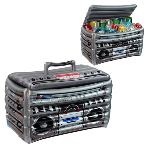 80s 90s Party Supplies Decorations Inflatable .. New 6 PCS Inflatable Boombox