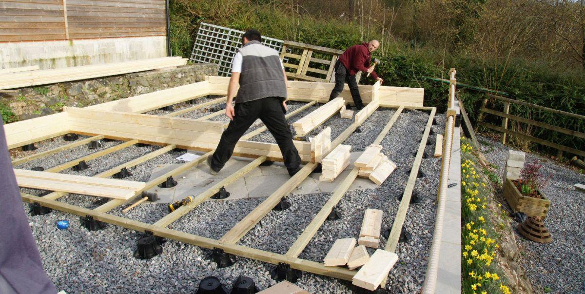 Welche Fundamenttypen werden bei einem Gartenhaus am