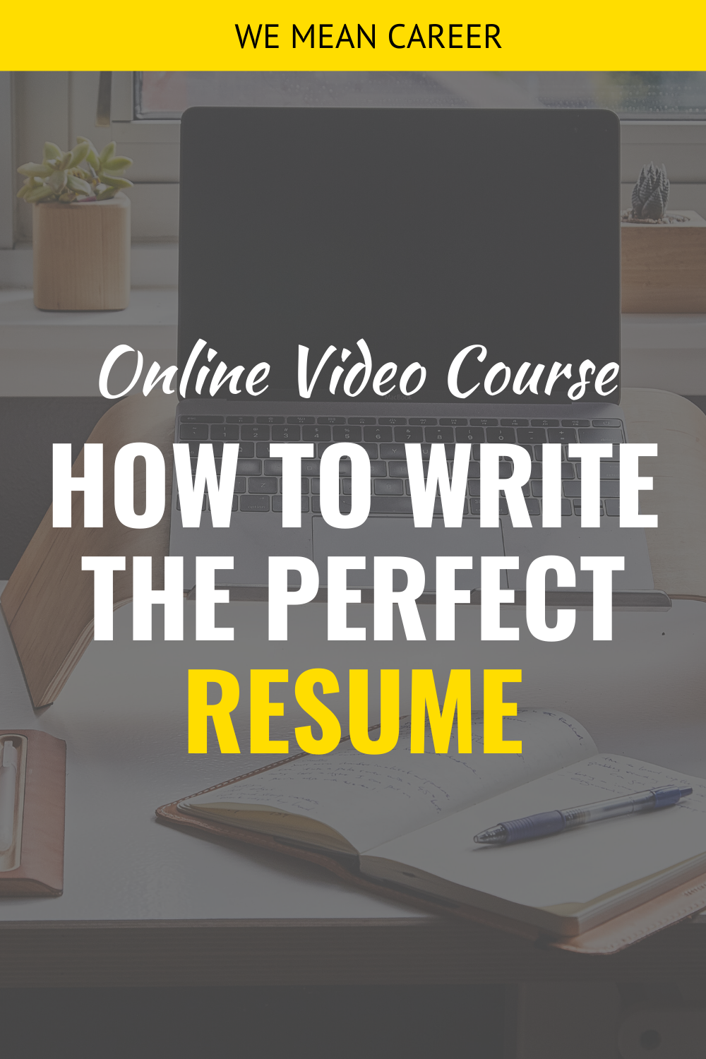 Online Course How to Write a JobWinning Resume Resume