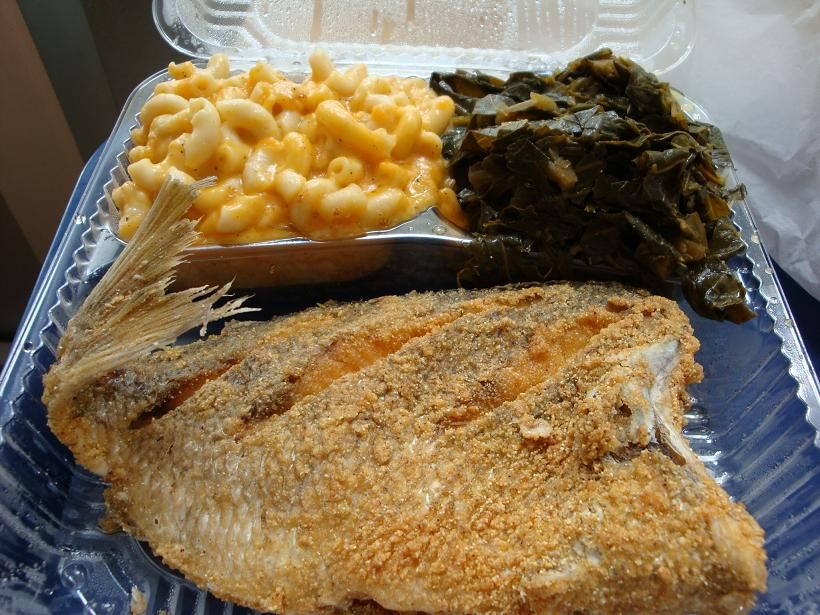 This is going back to my brooklyn roots fried porgy i for Porgy fish recipe