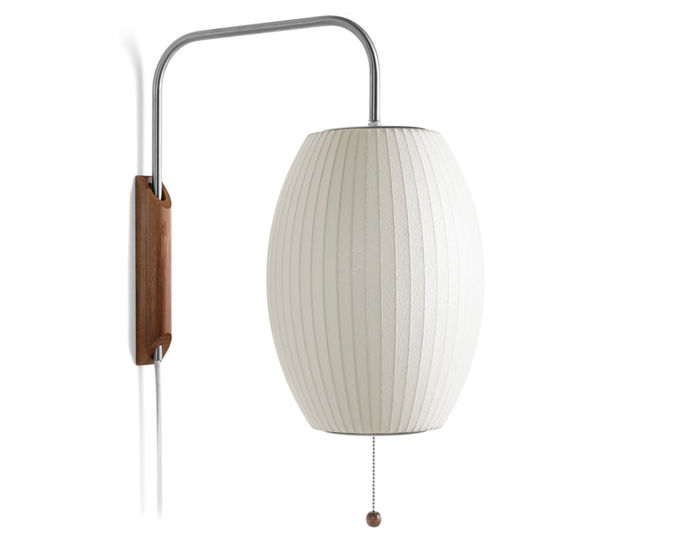 Nelson Bubble Lamp Wall Sconce Cigar George Nelson Bubble Lamp Nelson Bubble Lamp Bubble Lamps