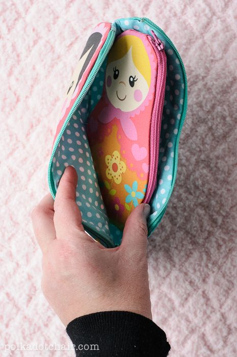 Nesting Dolls Zip Pouch Sewing Pattern Sewing Crochet Doll