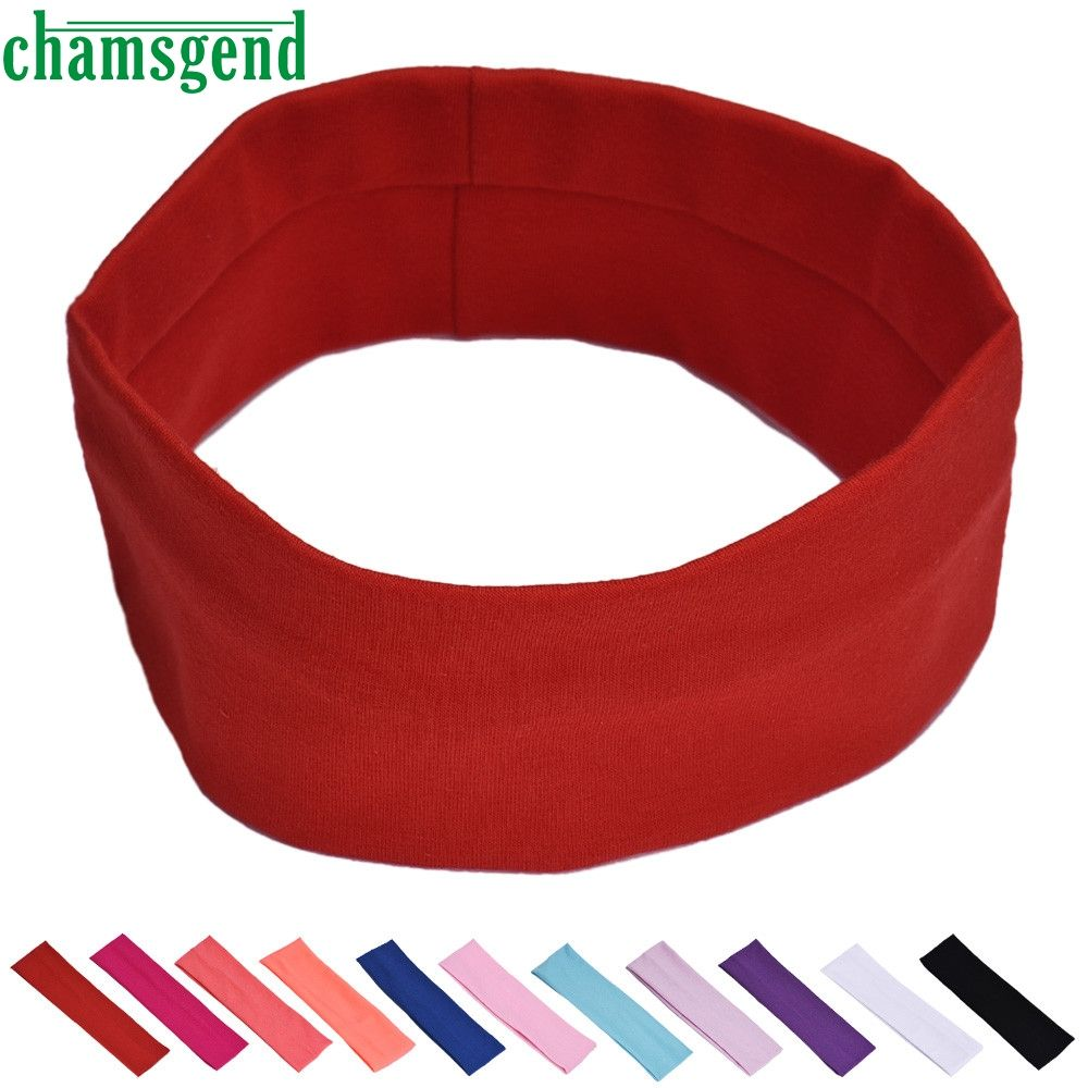 New Gym fitness Headbands For Women Winter Sports Headband Head Wrap Wide  Yoga Hairband Elastic Turban Hair Accessories JAN13YP  Affiliate 610fe678a
