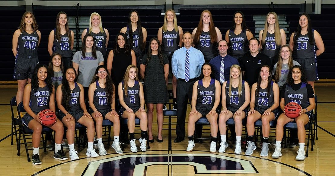 2018-19 Women's Basketball Roster   Cornell College Athletics ... #athletefood