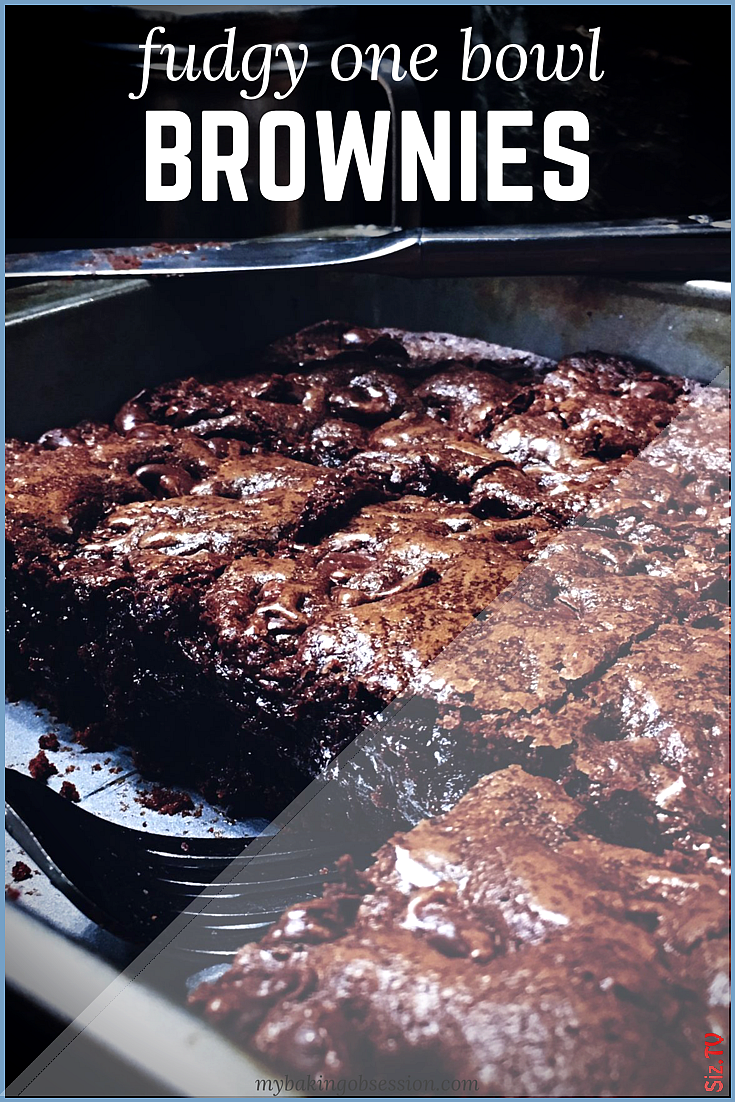Fudgy One Bowl Brownies 4 9 u2605 u2605 u2605 u2605 u2605  Dieses knusprige Rezept f r Instant Pot-