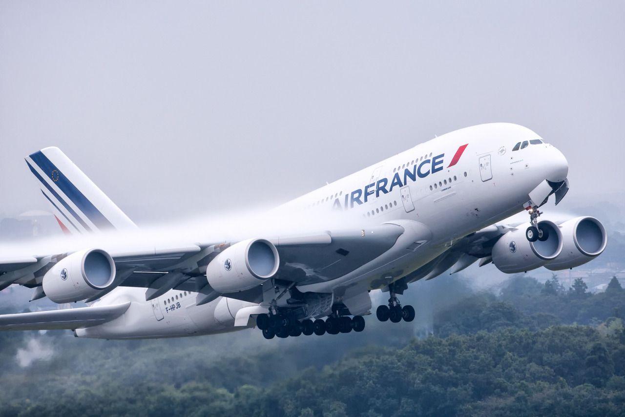 Air France Airbus A380 800 F Hpjb Take Off Follow Civil