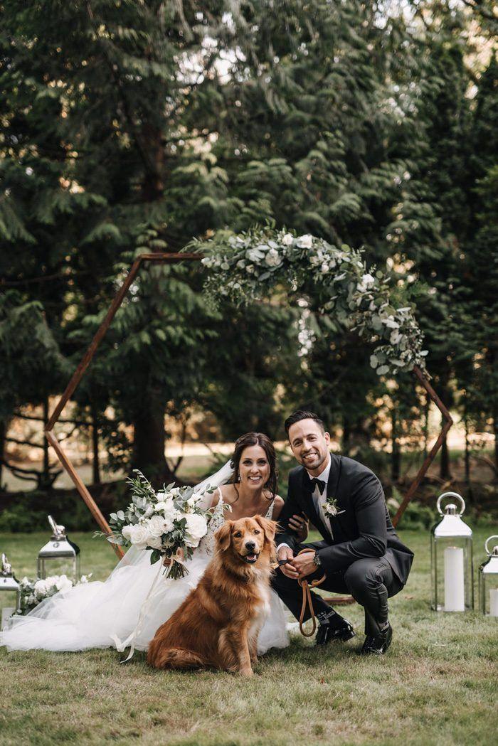 Hoch entwickelte Schwarzweiss-Vancouver-Hinterhof-Hochzeit | Junebug-Hochzeiten   – one day with the person I love