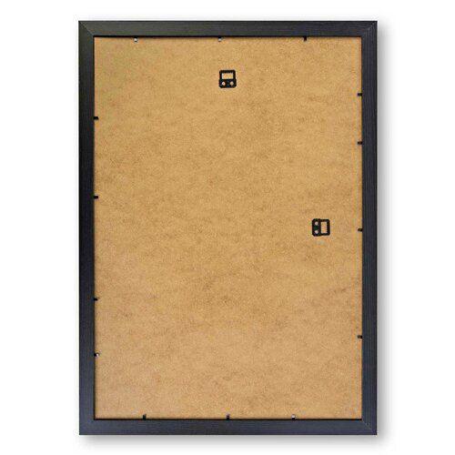 Gerahmtes Poster Architekturskizze East Urban Home Größe: 63 cm H x 45 cm B, Rahmenart: Schwarz