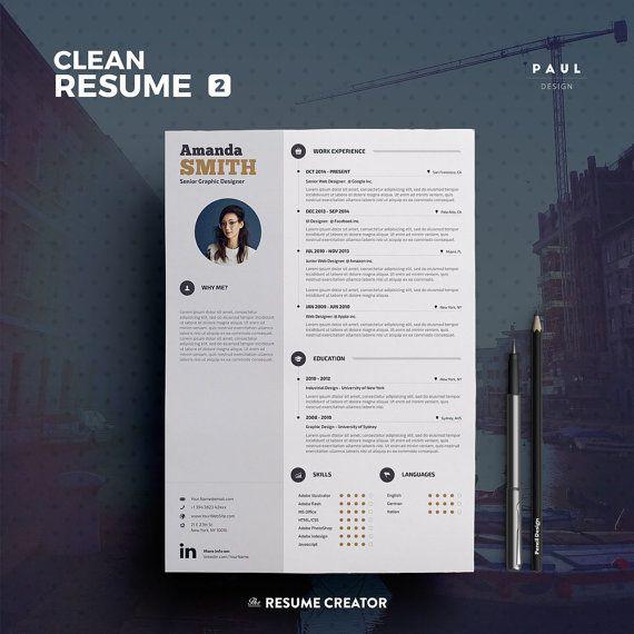 clean resume  cv  u0026quot olivia u0026quot